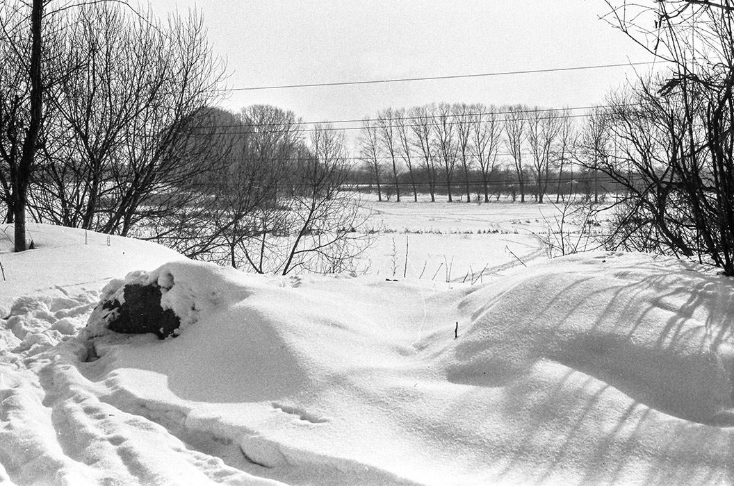 Окраина Минска, 1983 год