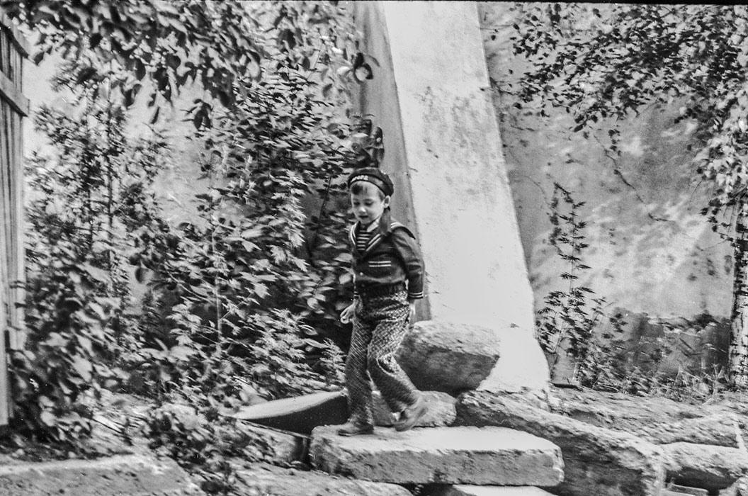 Во дворе. Минск, 1985 год