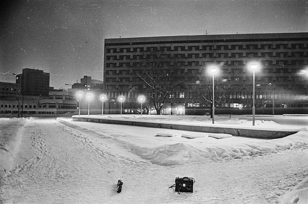 Ул. Мясникова, Минск, середина 80-х