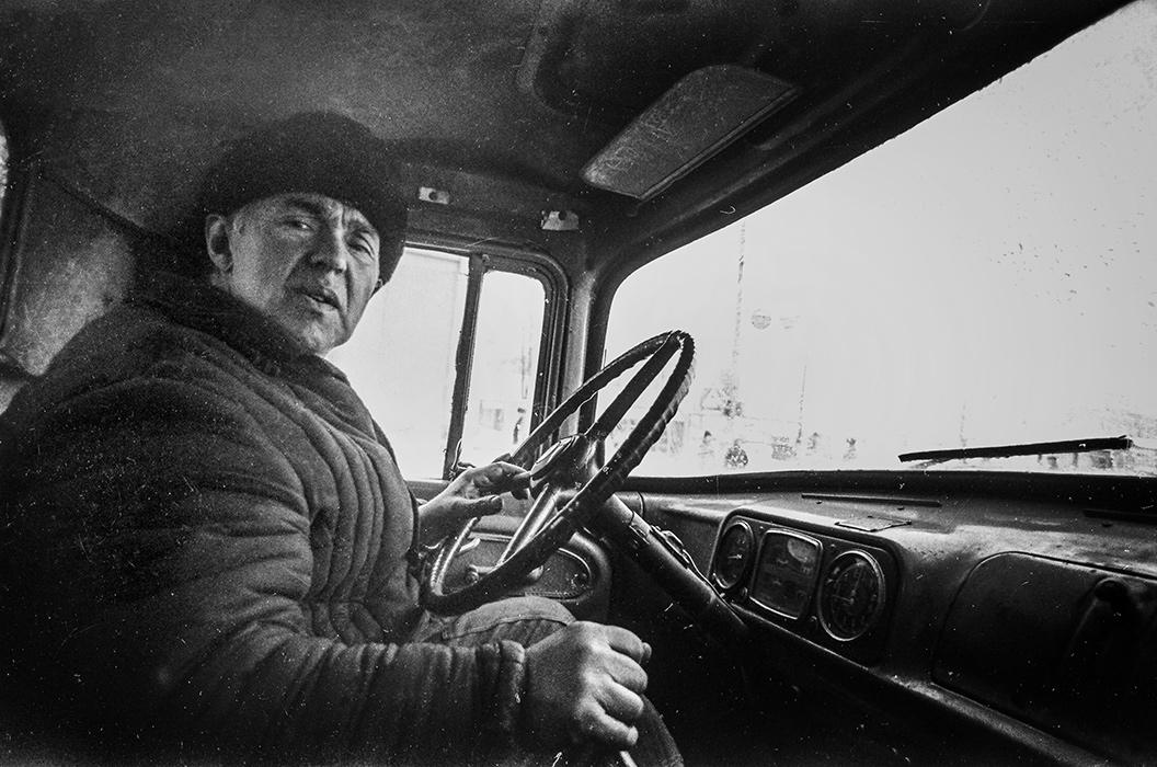 Старый водитель. Минск, 1983 год