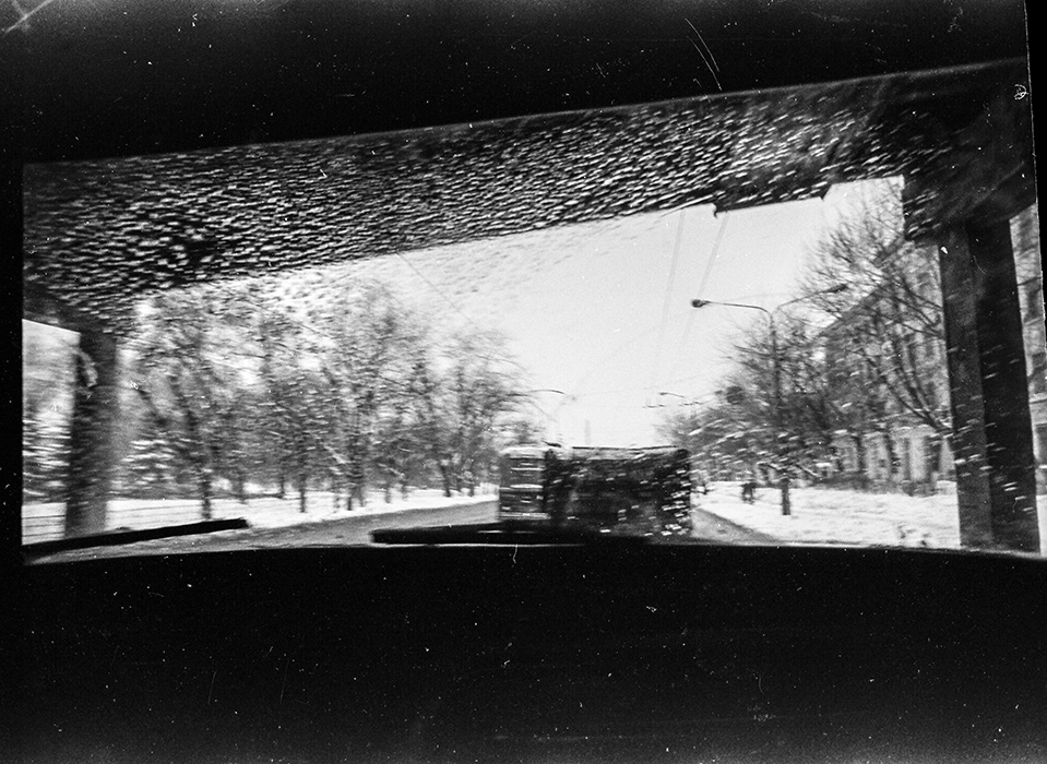 Из машины. Минск, 1983 год