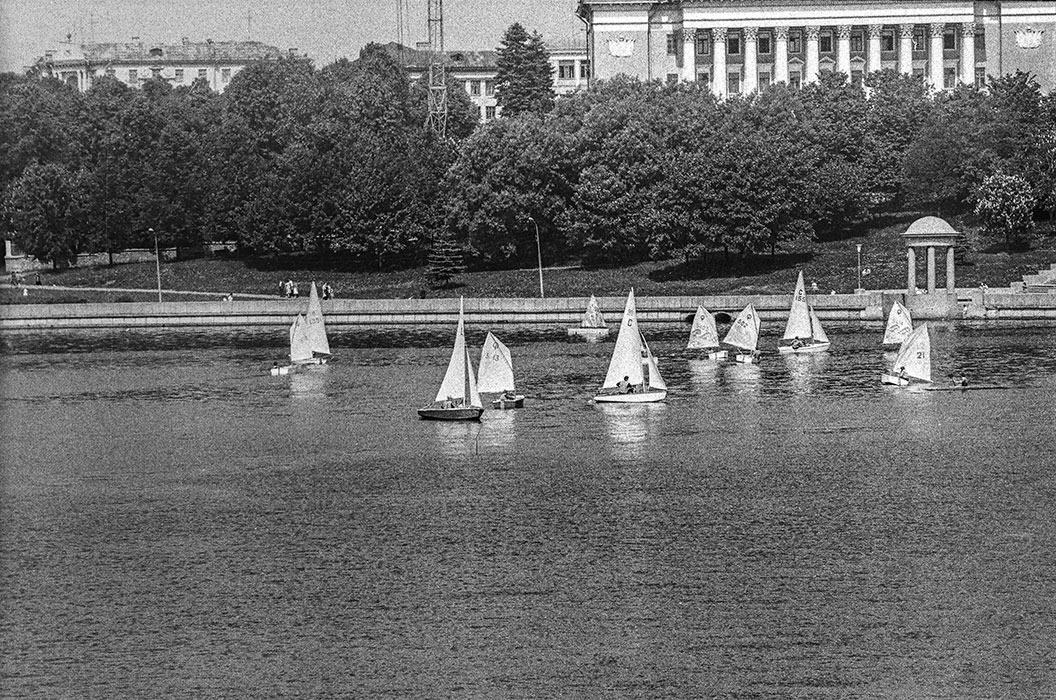 р.Свислочь, Минск, 1986 год