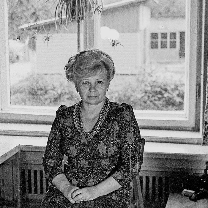 Воспитатель в детском садике. Минск, 1984 год
