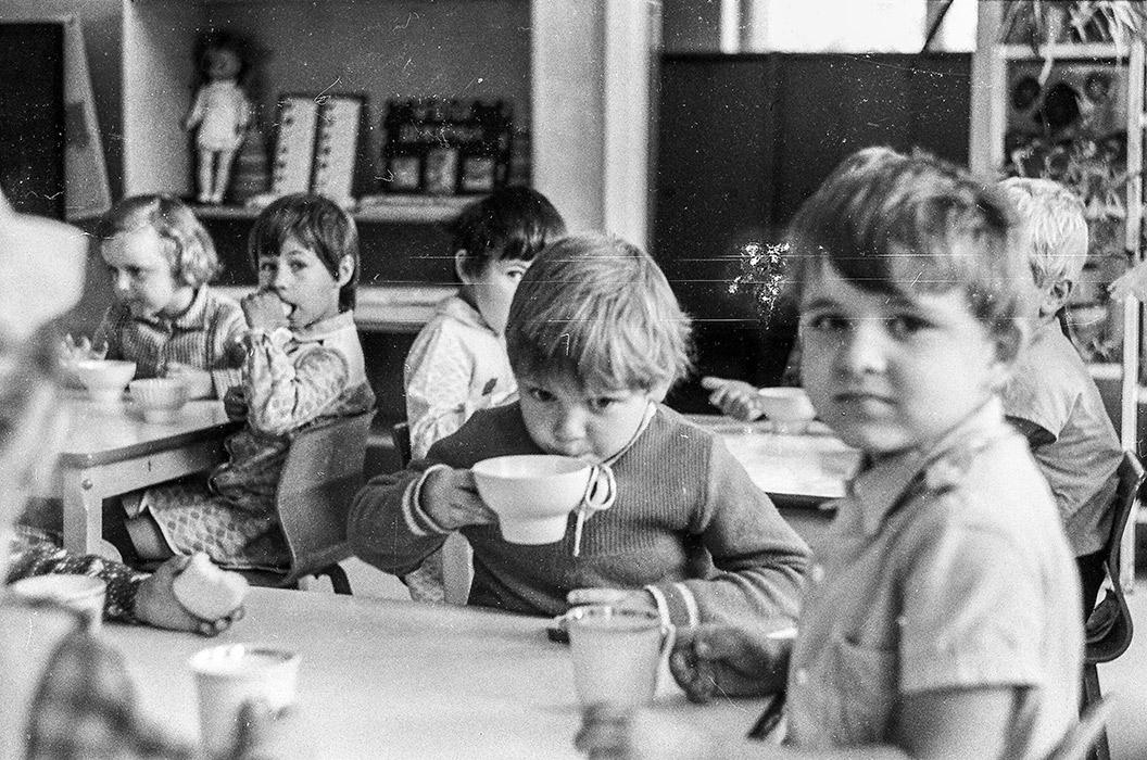 Полдник в детском садике, Минск, середина 80-х