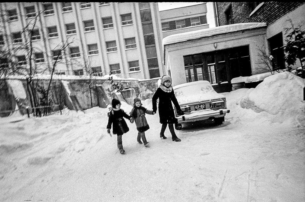 Минский дворик. 1984г.