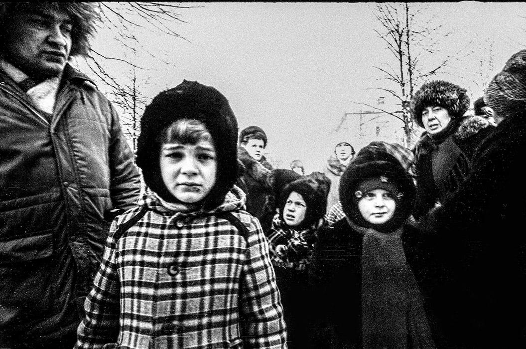 Дети. Минск, 1986 год