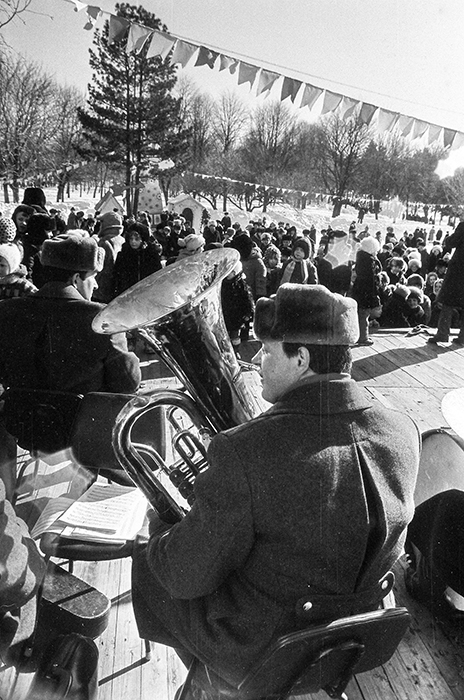Трубач. Минск, 1986 год