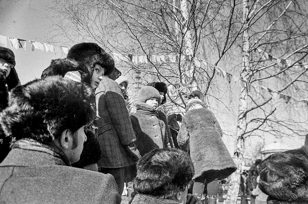 В парке. Минск, 1986 год
