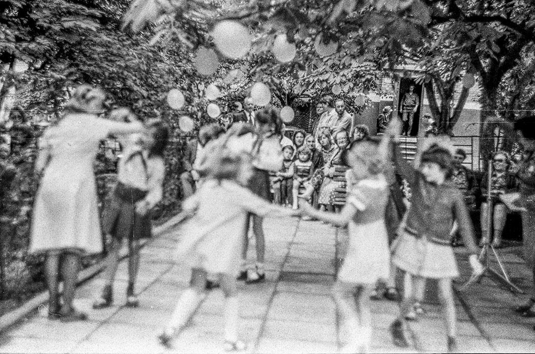 Праздник двора дома 34 по ул.Мясникова, Минск, середина 80-х