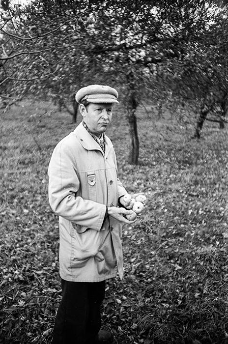 В заброшенном колхозном саду. Минский р-н, 1983 год