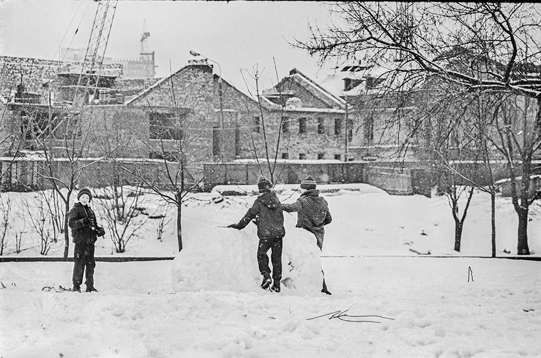 Верхний город. Минск. Конец 80-х