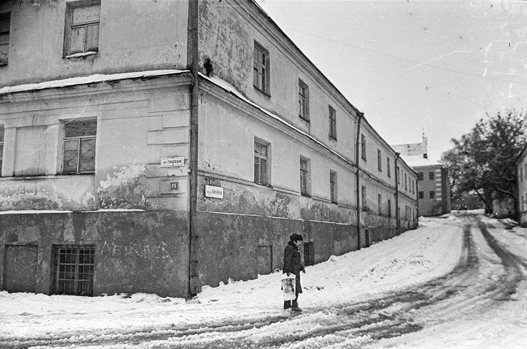 Верхний город, ул.Торговая, Минск, конец 80-х