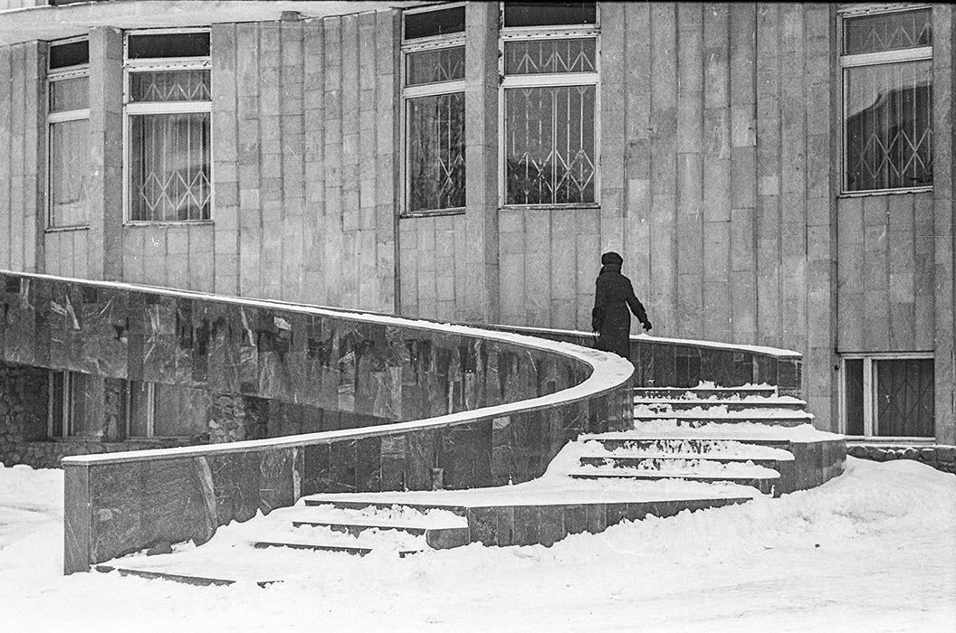 Ул.Берсона, Минск, середина 80-х