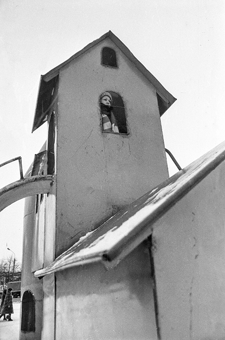 Детская площадка, пр-кт Партизанский, Минск, 1983год