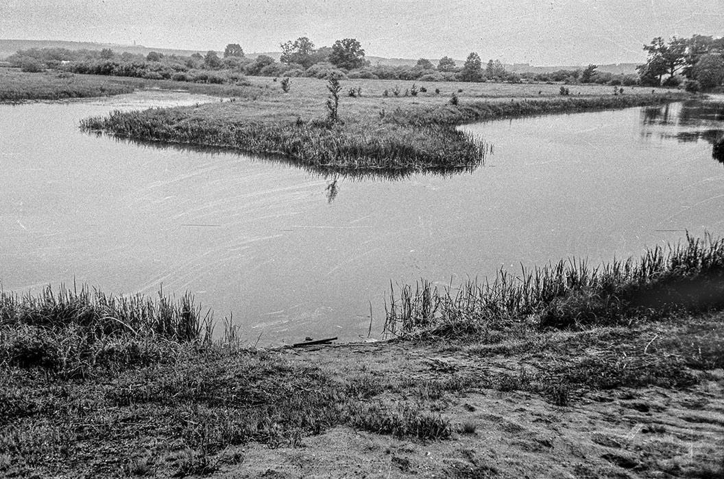 Высокий берег, на родине Я.Коласа, середина 80-х
