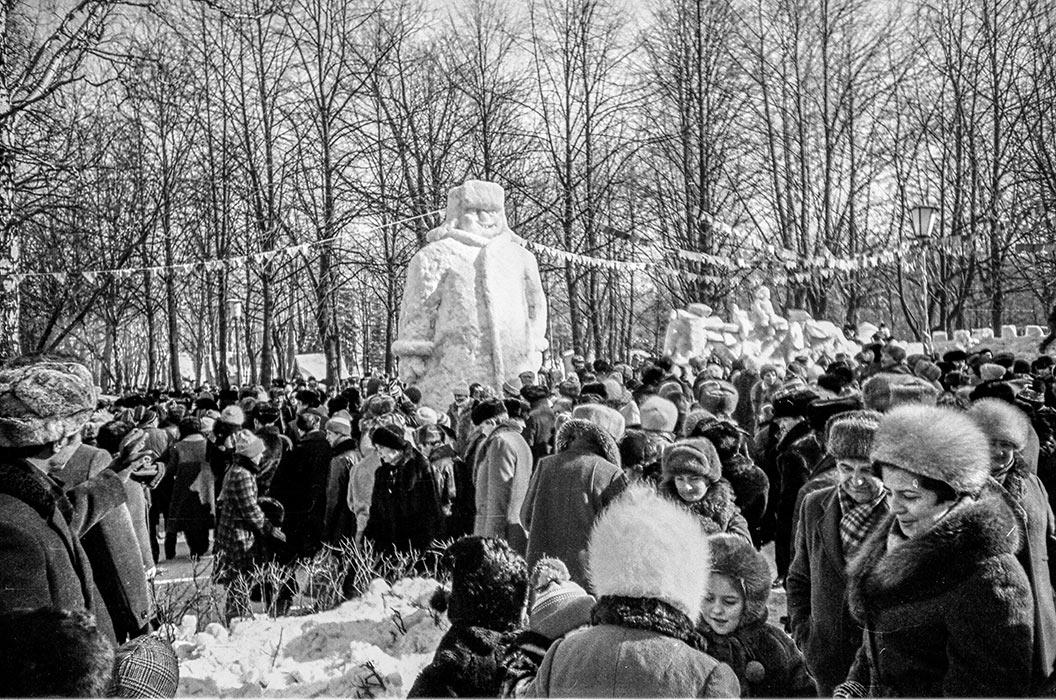 Проводы зимы. Минск, середина 80-х