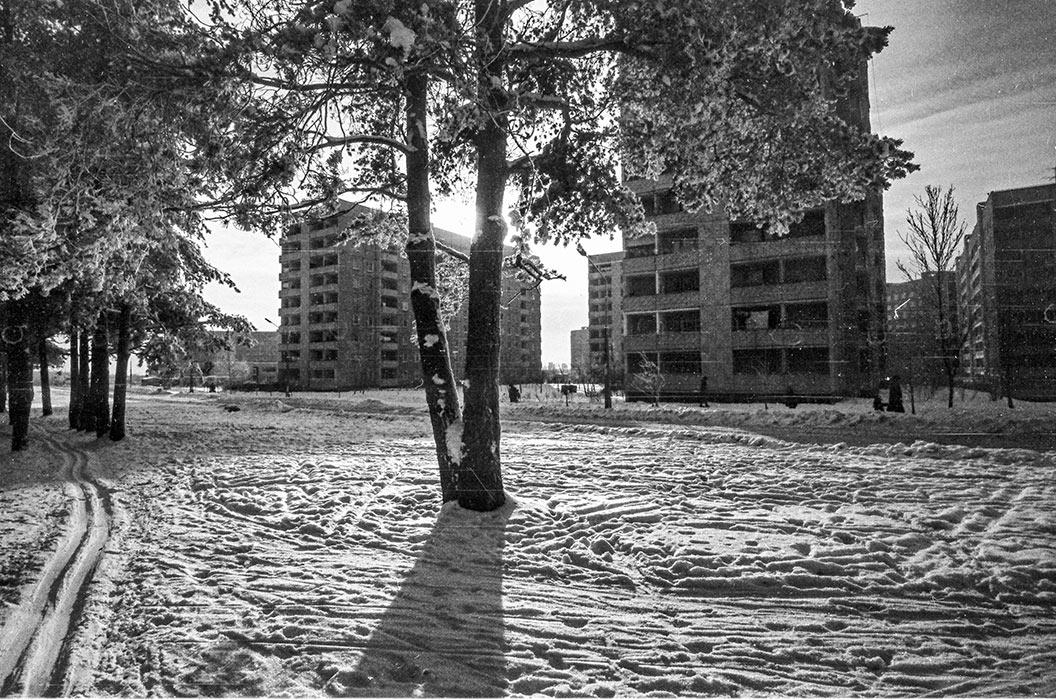 Микрорайон Зеленый Луг, Минск, середина 80-х