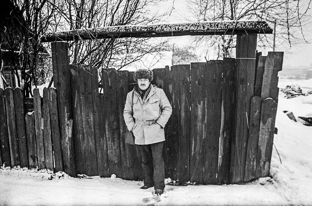Фотограф Геннадий Слесаренок. Минск, середина 80-х