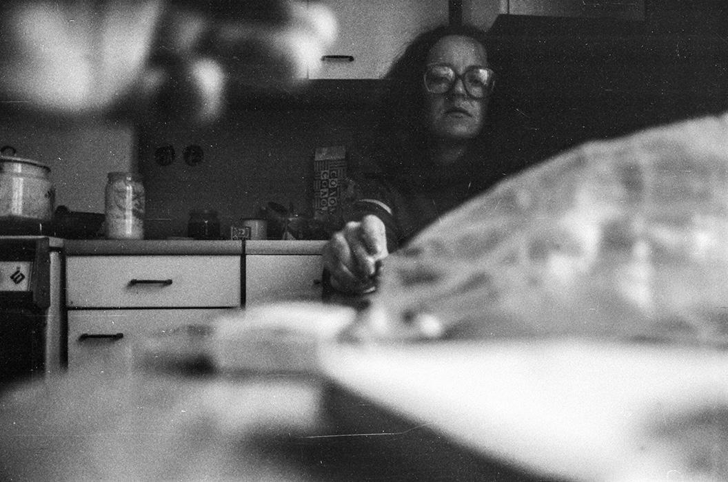 На кухне. Минск, начало 80-х