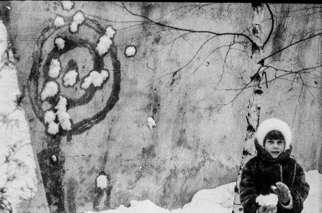 Снежки. Минск, середина 80-х