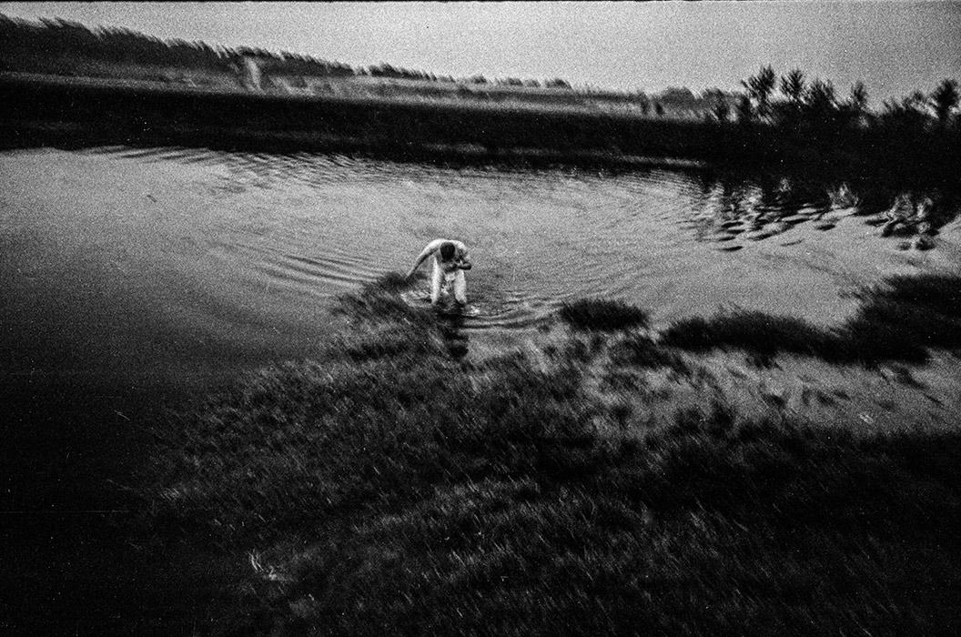 Ночное купание. Гомельская обл. 1988год