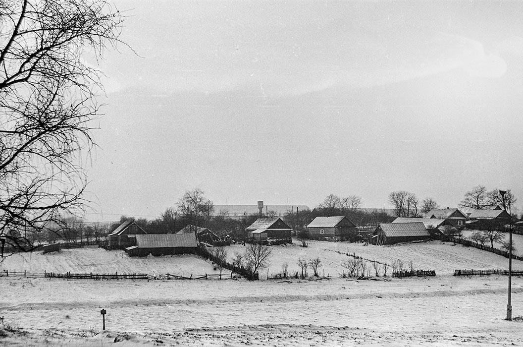 Деревня. Минский р-н, 1983 год