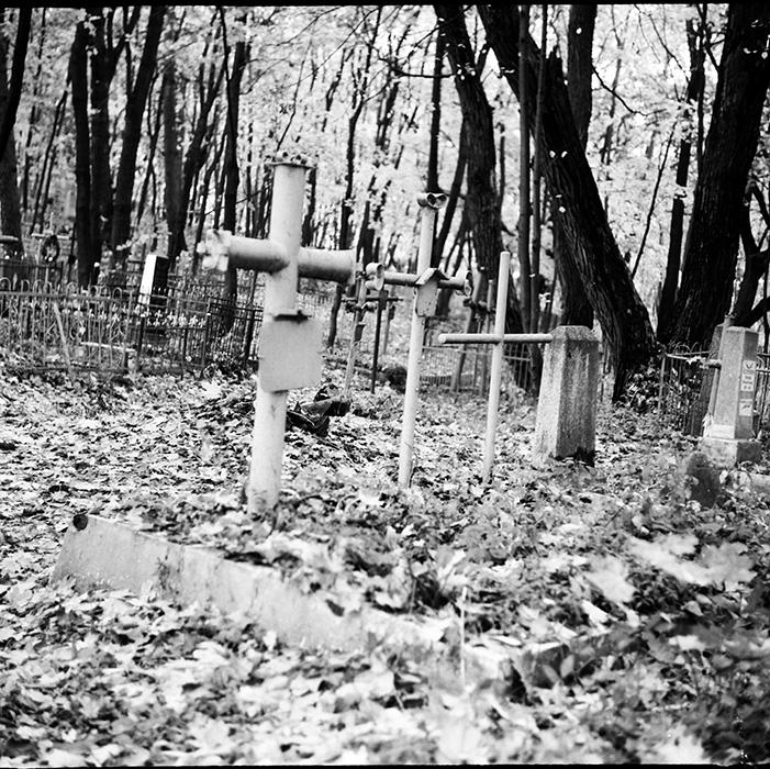 Кальварийское кладбище. Минск, конец 80-х