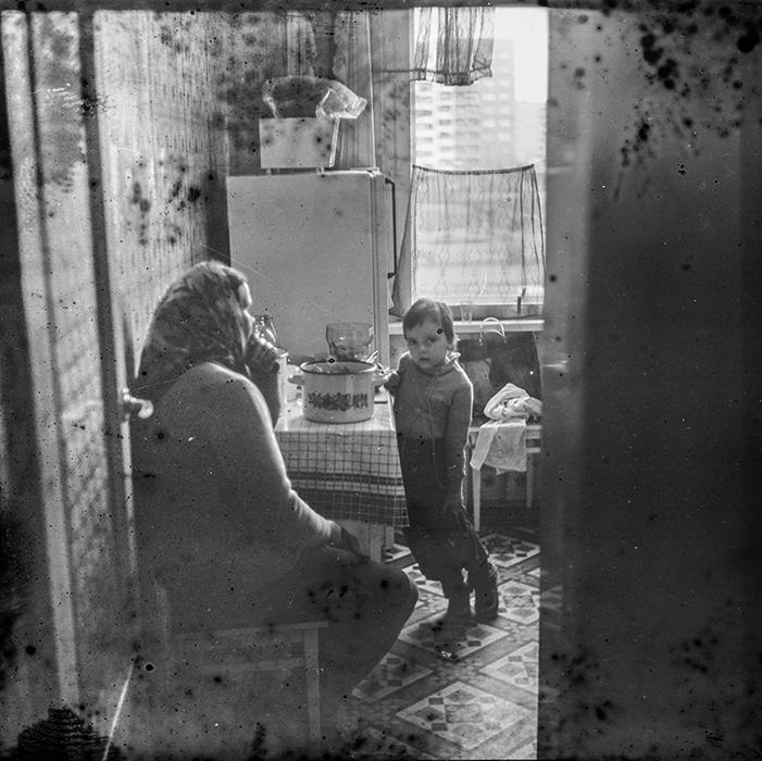 На кухне, Минск, конец 80-х