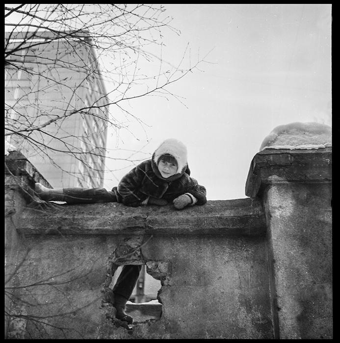 Во дворе. Минск, середина 80-х