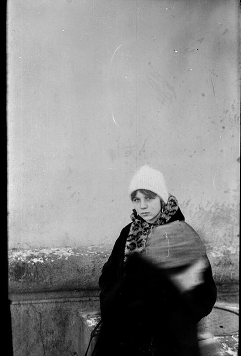 Ольга. Минск, середина 80-х