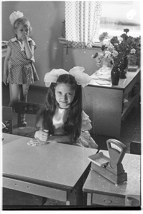 В детском садике. Минск, середина 80-х