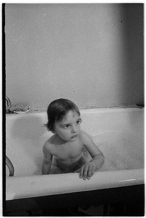 В ванной, Минск, 1987 год