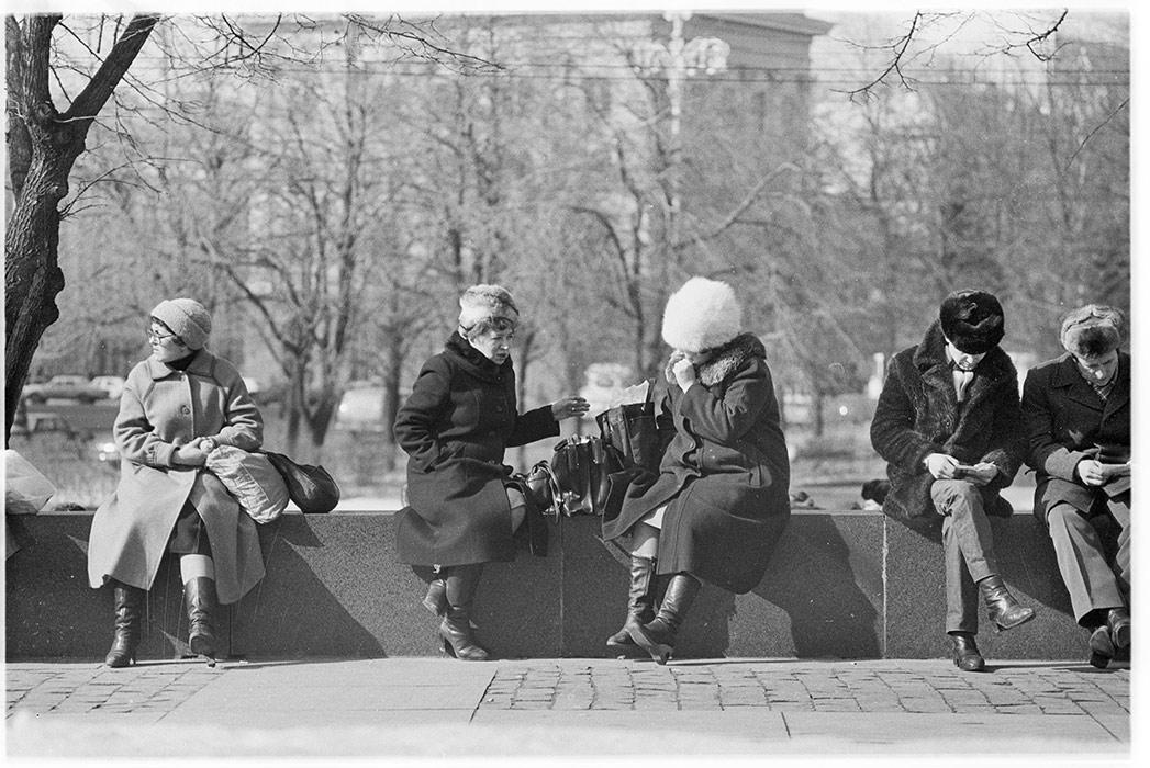 Москвичи, Москва, начало 80-х