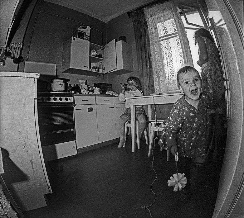 На кухне. Минск, 1987 год