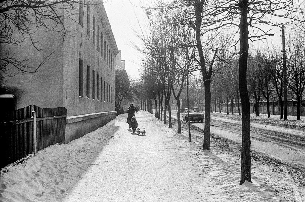 Зима в Бресте, р-н Граевки, 1986 год