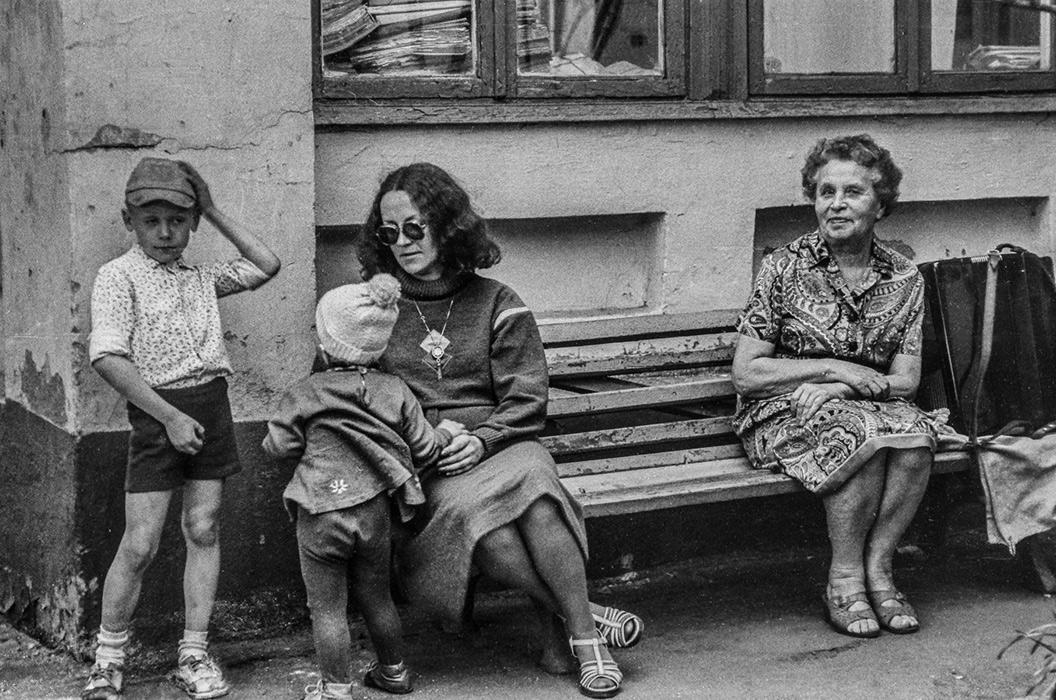 Минские дворики, середина 80-х