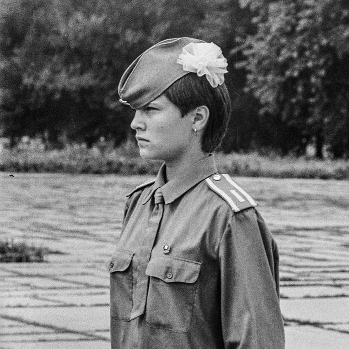 На посту в Брестской крепости. Начало 80-х