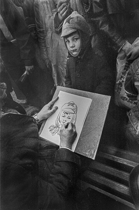 Рисунок. Минск, 1985 год