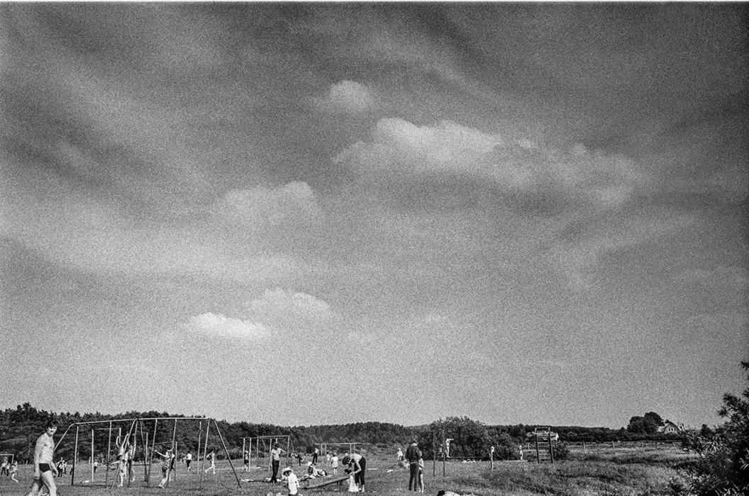 На лугу в Высоком береге, середина 80-х