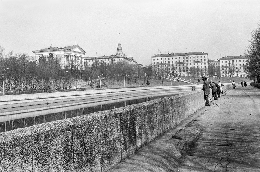 Парк Янки Купалы, Минск, начало 80-х