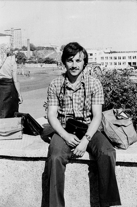 Автопортрет, Мозырь,1979 год