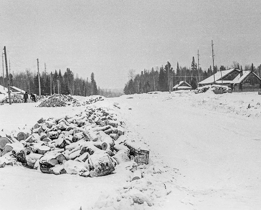 Красноярский край, Черноречинский р-н?, пос. Комендантский?, январь 1980 год
