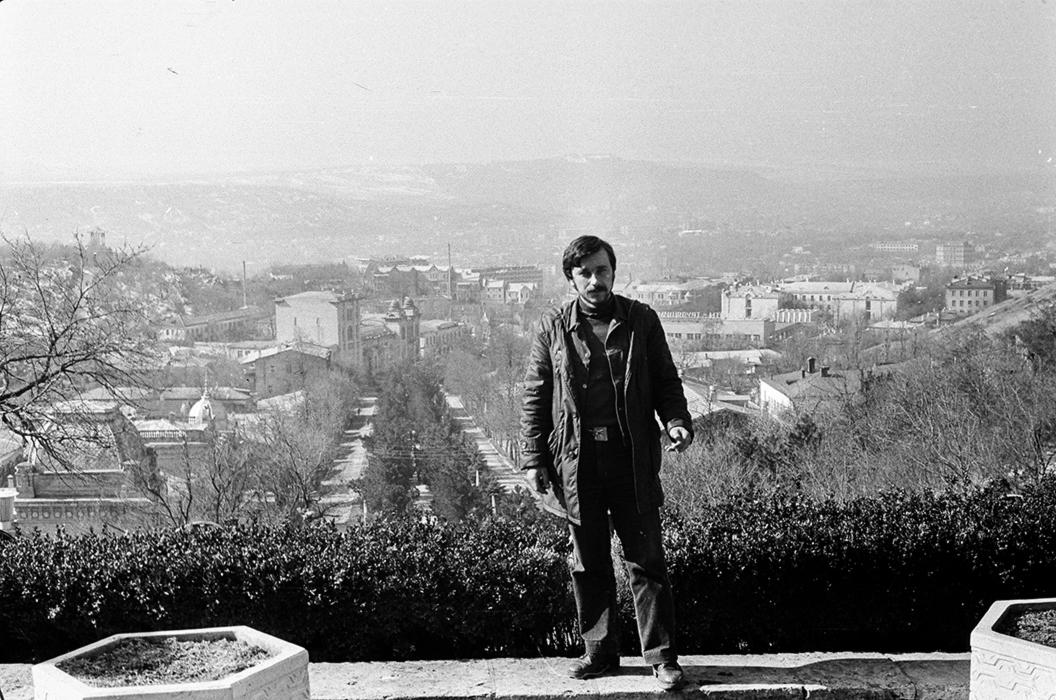 Автопортрет. Северный Кавказ. 1988 год