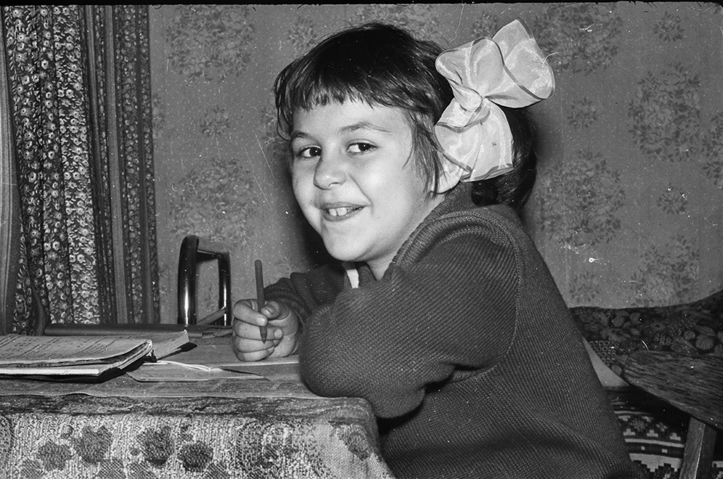 Вика.  Минск 1979-80 год