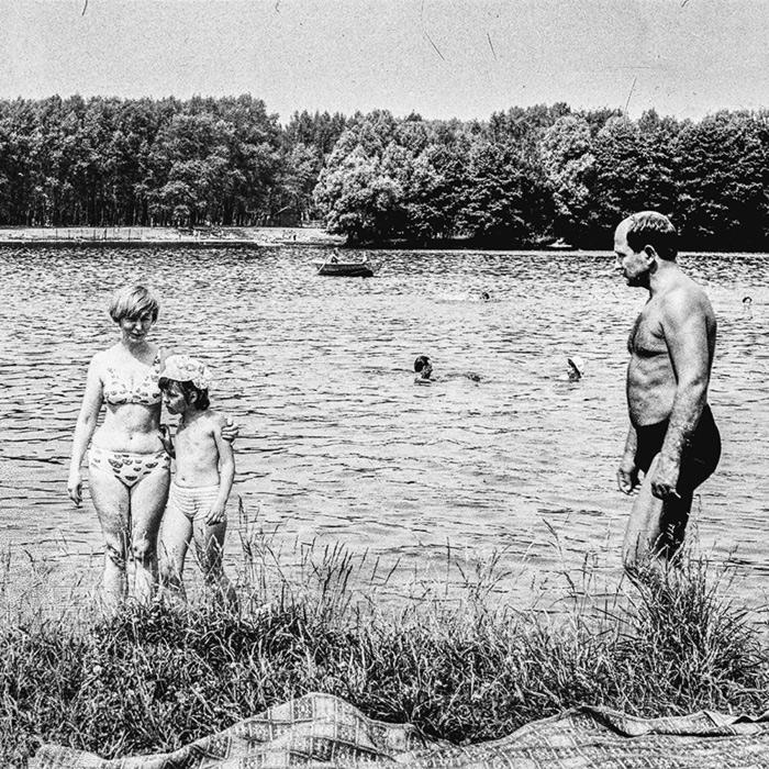 Комсомольское озеро. Минск. 1980 год