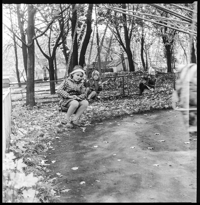 в парке, Минск, середина 80-х