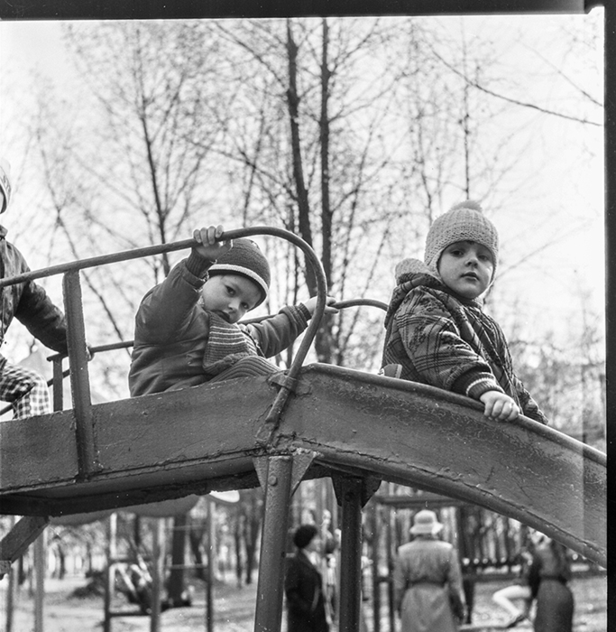 В парке, Минск, 1988 год