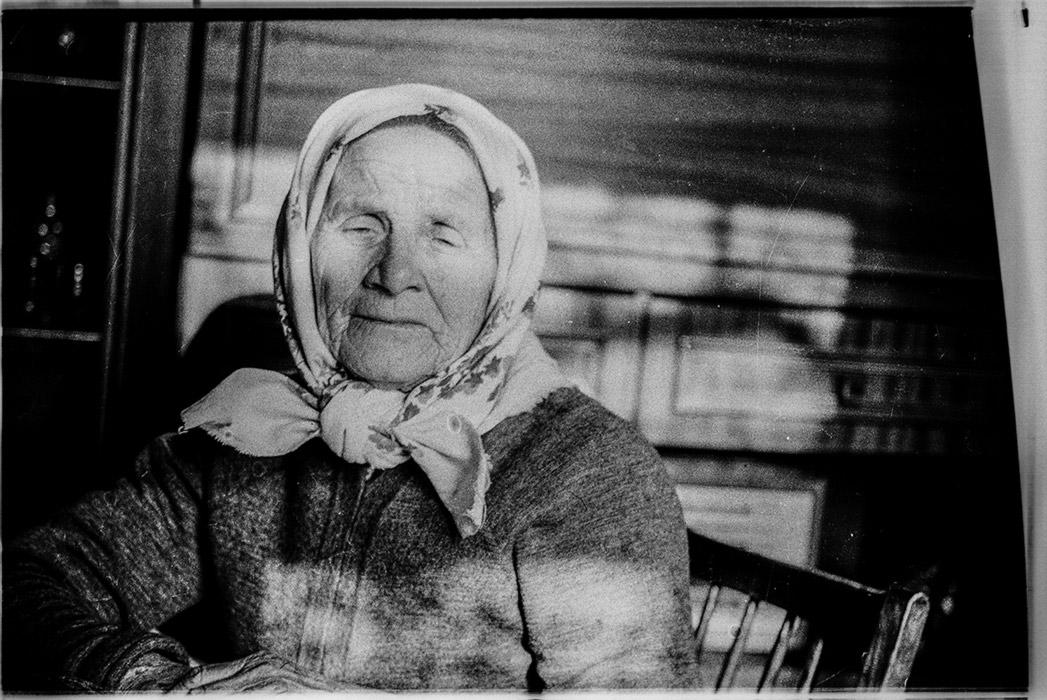 Бабушка Вера, Брест, 1983 год