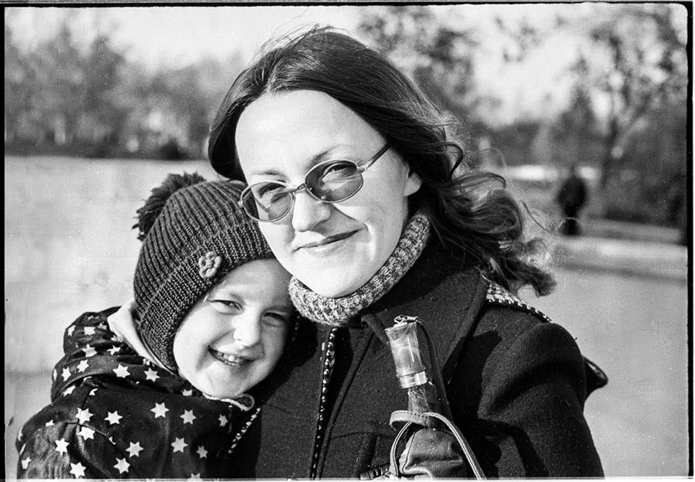 Вилочка и Элла, Минск, 1983 год