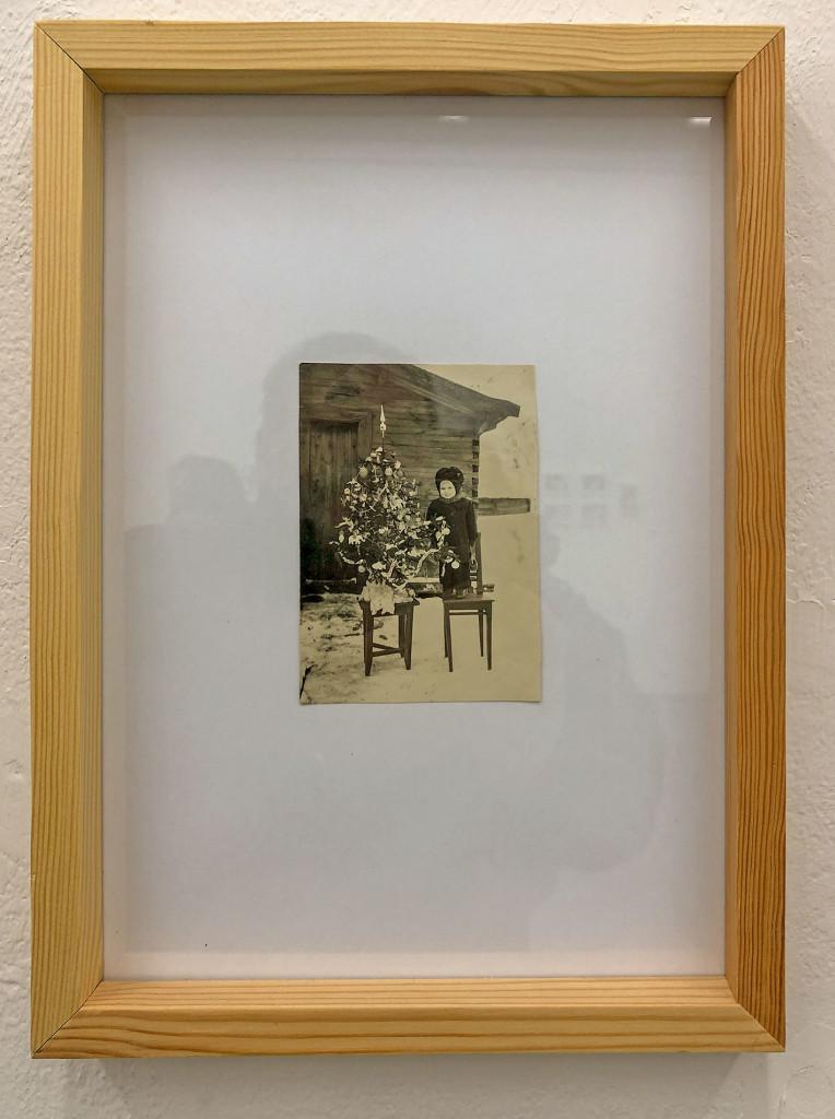 """фотография из проекта """"Археология белорусской фотографии"""", в выставке """"Когда ёлки были большими"""""""